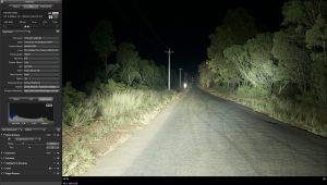 Lightforce HTX road scene