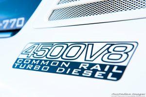 4500V8 Common Rail Turbo Diesel